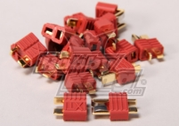 Nylon T-Connectors 5 Pairs (10 pc)