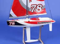Turnigy 610mm Fiberglass Racing Yacht Sailboat ARTR