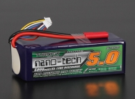 Turnigy nano-tech 5000mAh 7S 65~130C Lipo Pack