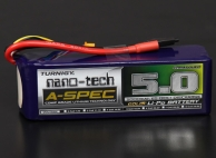 Turnigy nano-tech A-SPEC 5000mah 5S 65~130C Lipo Pack