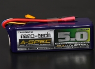 Turnigy nano-tech A-SPEC 5000mah 6S 65~130C Lipo Pack