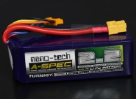 Turnigy nano-tech A-SPEC 2200mah 6S 65~130C Lipo Pack