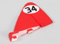 Durafly DH-88 Comet 1120mm - Replacement Tail Wing