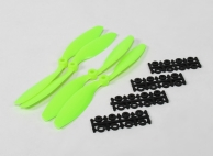 8040 SF Props 2pc Standard Rotation/2 pc RH Rotation (Green)