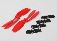 8040 SF Props 2pc Standard Rotation/2 pc RH Rotation (Red)