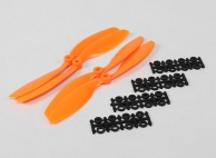 8040 SF Props 2pc Standard Rotation/2 pc RH Rotation (Orange)