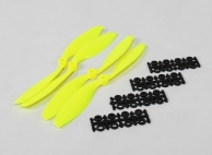 8040 SF Props 2pc Standard Rotation/2 pc RH Rotation (Flouro Yellow)