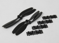 8040 SF Props 2pc Standard Rotation/2 pc RH Rotation (Black)