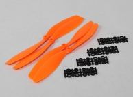 10x4.5 SF Props 2pc Standard Rotation/2 pc RH Rotation (Orange)
