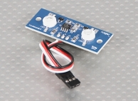 Two LED PCB Strobe Blue and Continuous White 3.3~5.5V