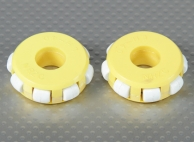 41x14mm Plastic Omni Wheel (2Pcs/Bag)