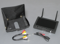 5.8GHz Diversity Receiver 7.0 Inch TFT LCD Monitor for FPV 800x480 LED Backlight
