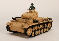 Tauch Panzer III Ausf.H RC Tank RTR w/ Airsoft/Smoke & Tx