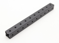 RotorBits Pre-Drilled Anodized Aluminum Construction Profile 100mm (Black)