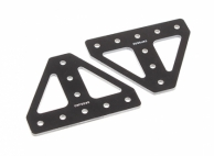 RotorBits Composite Braced T Plate 50x40mm (2pcs/bag)