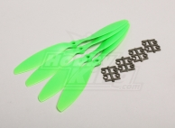 Slow Fly Electric Prop 9047R SF (4 pc - Green Right Hand Rotation)