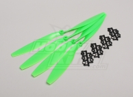 Slow Fly Electric Prop 12x4.5R SF (4 pc - Green Right Hand Rotation)