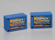 ZIPPY Flightmax 5700mAh 2S3P 25C saddle pack