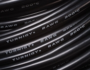 Turnigy Pure-Silicone Wire 8AWG (1mtr) BLACK