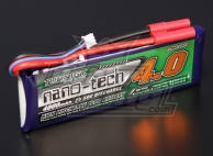 Turnigy nano-tech 4000mAh 2S 25~50C Lipo Pack
