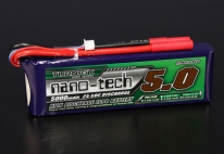 Turnigy nano-tech 5000mAh 3S 25~50C Lipo Pack