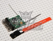 DSM2 Compatible Parkflyer 2.4Ghz Receiver