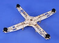 Hobbyking Super Mini QuadroCopter Frame with Motors (445mm)