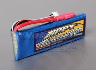 ZIPPY Flightmax 2650mAh 2S1P 45C