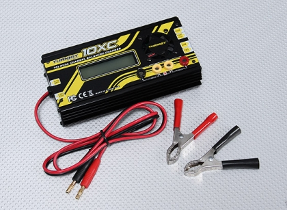 Turnigy 10XC 10S 400W 10A Dual Channel Balance Charger