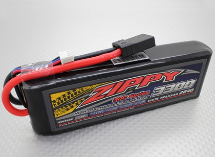 ZIPPY 3300mAh 2S1P 30C Lipo Pack (Suits TRA2840)