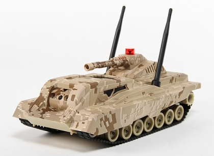 Multimedia Battle Tank With Streaming Video and Night Vision Wi-Fi
